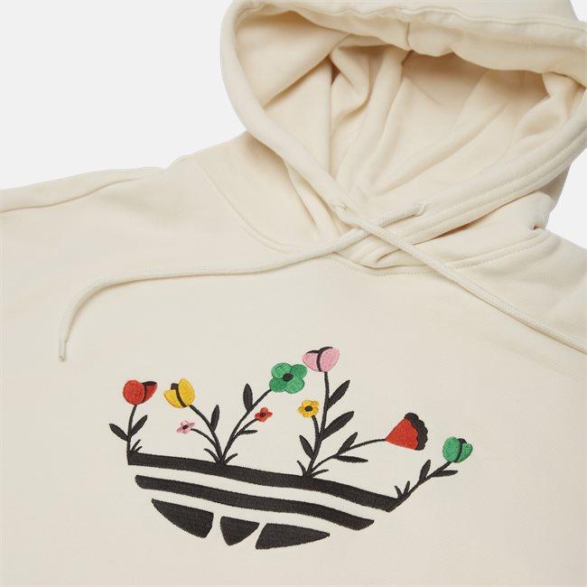 Floral Trefoil Hoodie